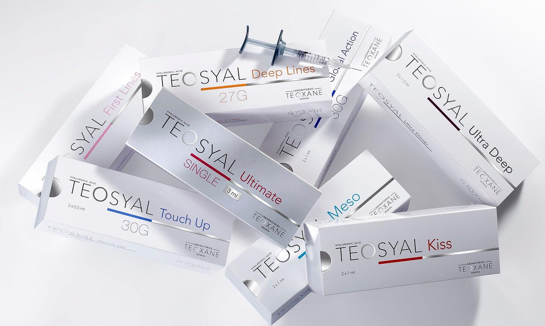 LAJOLI Faltenunterspritzung mit Hyaluronsäure - Teoxane Produkte - Bilder
