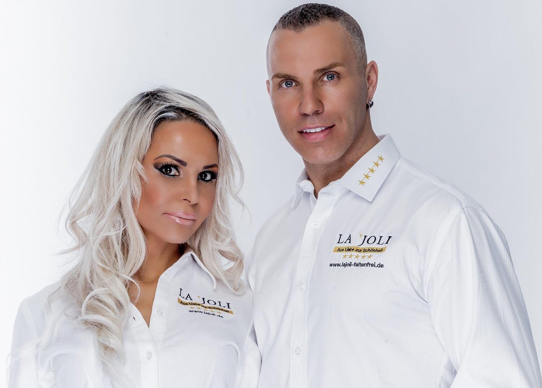 Manuela & Nico Leja, das Team von LAJOLI Fadenlifting, Faltenunterspritzung, Vampirlift & Permanent Make Up