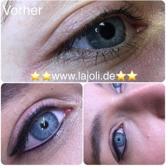 Bilder Permanent Make Up Lidstriche oben/unten - Manuela Leja LAJOLI - Wimpernkranzverdichtung, Eyebrow 02