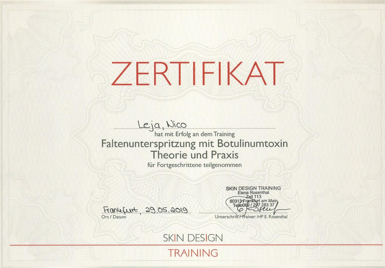 Botox Masterclass Workshop in Frankfurt (Main) - Faltenbehandlung - Achselschweiß, Krähenfüße etc