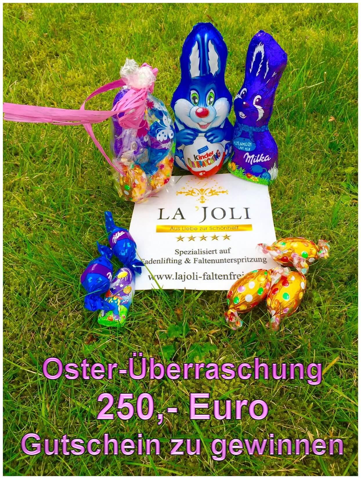LAJOLI Oster-Gewinnspiel - Gutschein Fadenlifting