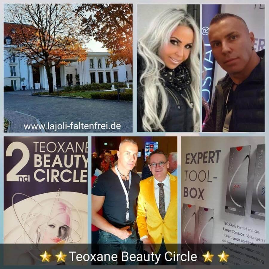 Kongress TEOXANE BEAUTY CIRCLE in Frankfurt - Botox, Hyaluronsäure, Faltenunterspritzung, Fadenlifting - LAJOLI Leja