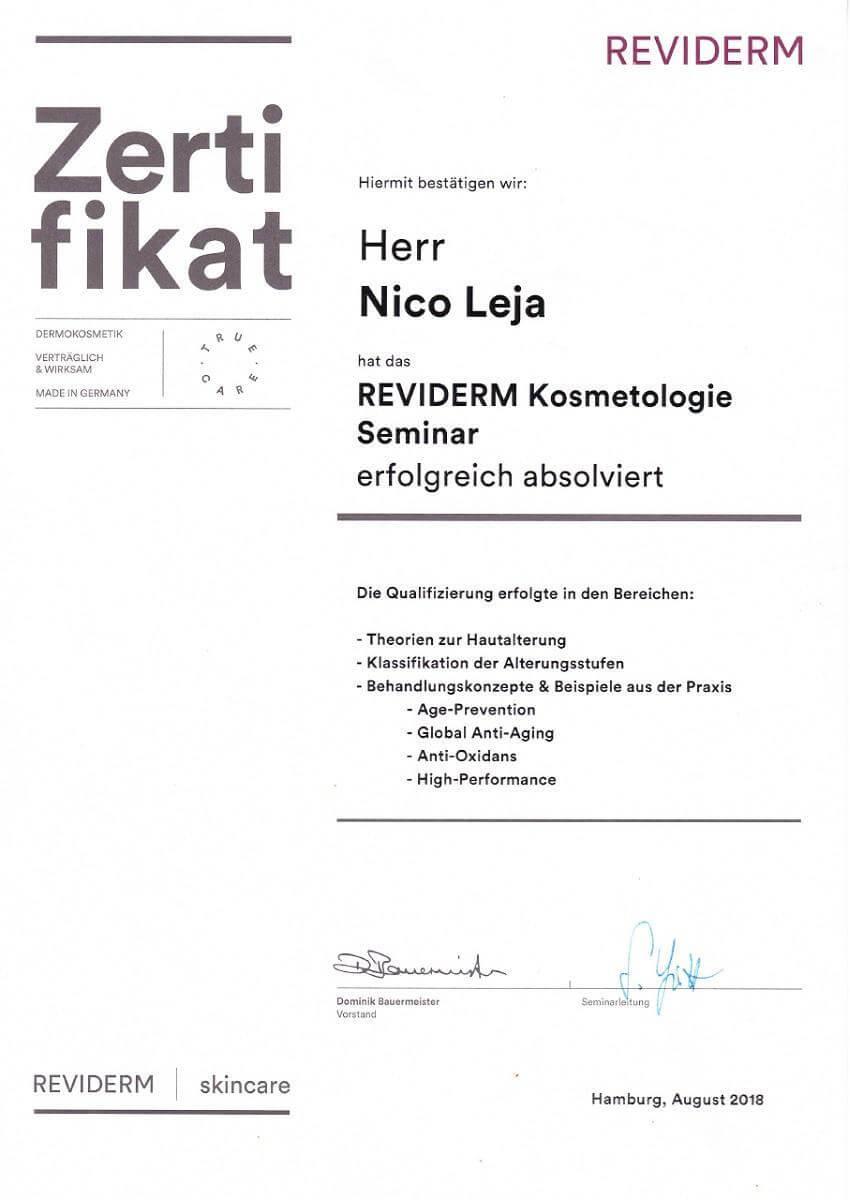 LAJOLI Kosmetologie Seminar in Hamburg - Hautalterung, Falten, Anti Aging, Kosmetik