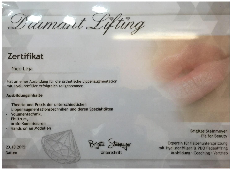 Spezial Experten-Einzelschulung Lippen aufspritzen mit Hyaluronsäure Workshop in Berlin - medical Kurs
